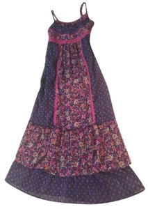 Navy/pink Maxi Dress by Justice