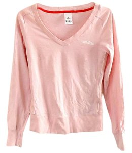 adidas Cotton V-neck Elastic Sweatshirt