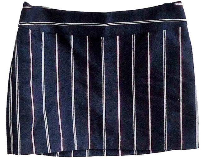 Express Bold Cotton Mini Skirt striped