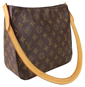 Louis Vuitton Looping Mm Tote Hobo Handbag Shoulder Bag