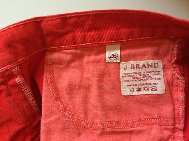 J Brand Cut Off Shorts Red
