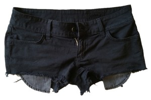 Siwy Cut Off Shorts Faded Black