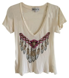 Wildfox T Shirt Off White