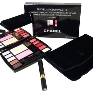 Chanel CHANEL NEW AUTHENTIC makeup brushes mascara bag cosmetic palette travel kit
