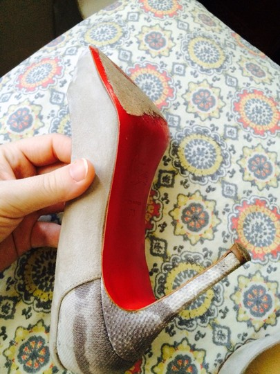 Christian Louboutin Red Soles Red Bottoms Leather Pumps
