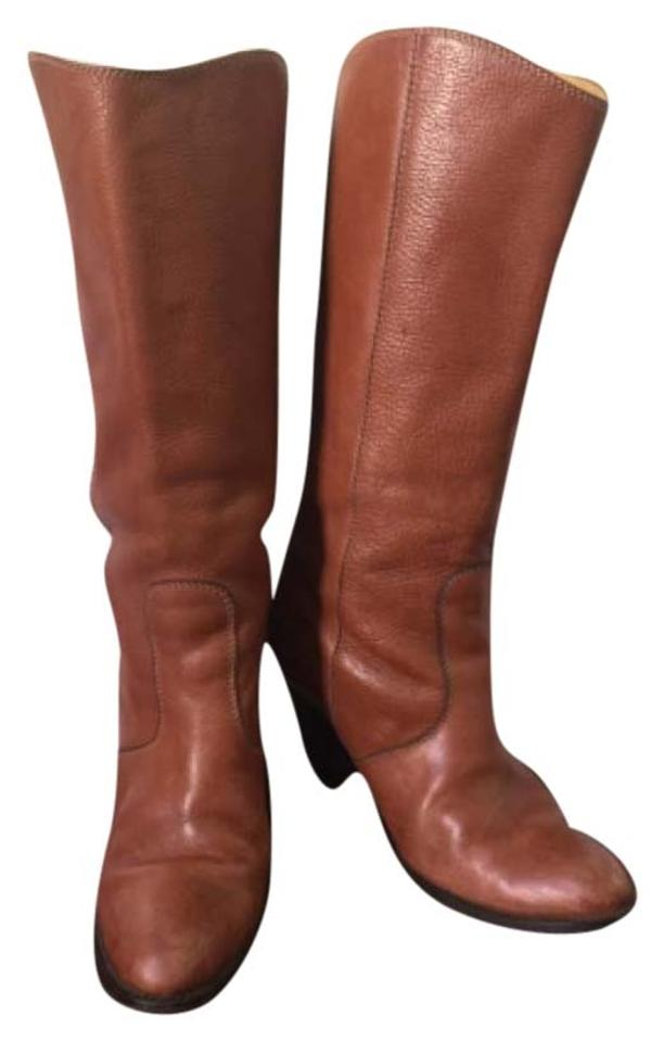 Madewell Camel Leather Leather Camel Western Cowboy Boots/Booties 7e035e
