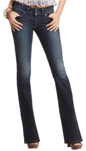 Guess Dark Boot Cut Jeans-Dark Rinse