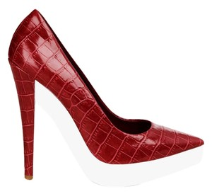 Stella McCartney Platform Stiletto Red Pumps