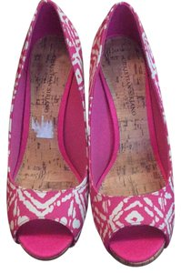 Christian Siriano for Payless Heel Style Pump Pink and white Pumps