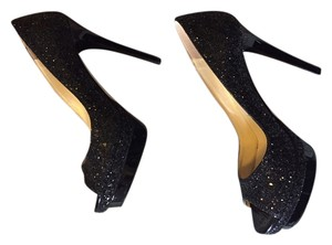 Jimmy Choo Glitter Black Formal