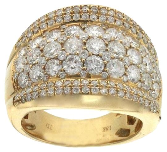 Other BRAND NEW, Ladies Domed Style 18K Yellow Gold Diamond Cocktail Ring