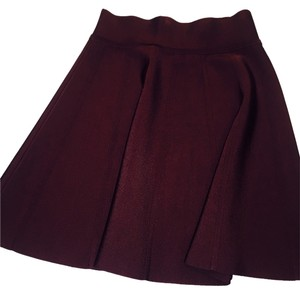 Wilfred Mini Skirt Burgundy