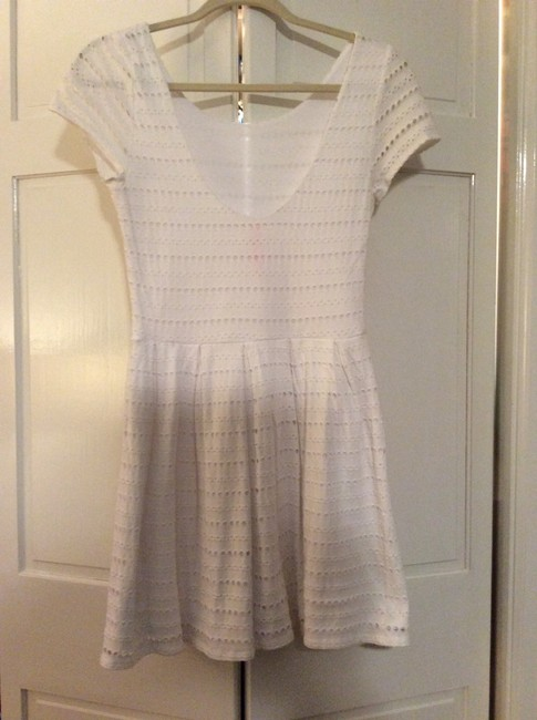 Eight Sixty short dress White on Tradesy