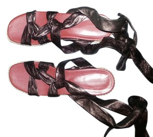 Marc by Marc Jacobs Gladiator Strappy 40 10 BRONZE Flats