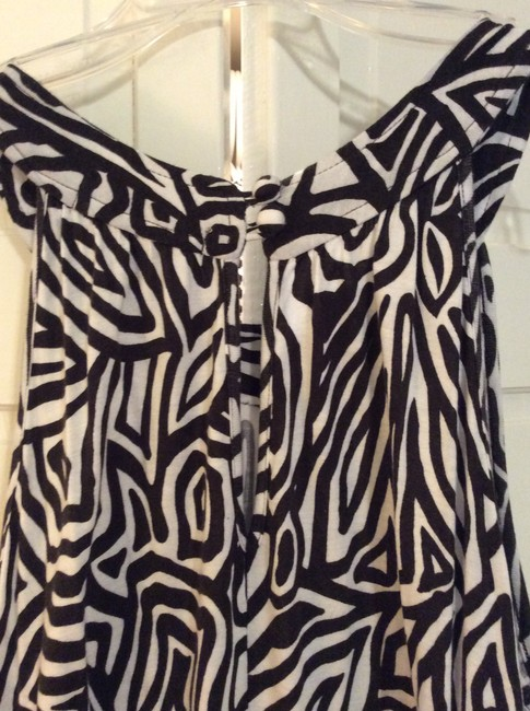 Black and white Maxi Dress by Banana Republic