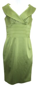 Kay Unger Stretch Satin Dress