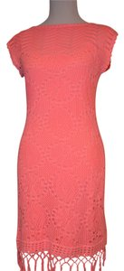 Lilly Pulitzer short dress Coral Pink on Tradesy