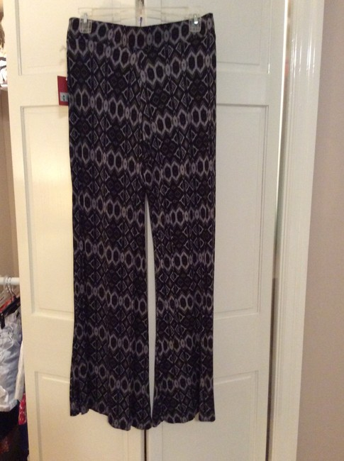 Mossimo Supply Co. Wide Leg Pants Black and gray