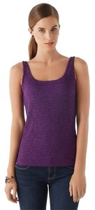 White House | Black Market Sleeveless Top Imperial Purple