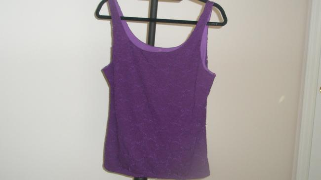 White House | Black Market Camisole Sleeveless Top Imperial Purple