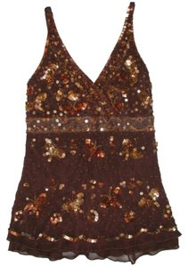 bebe Top Brown