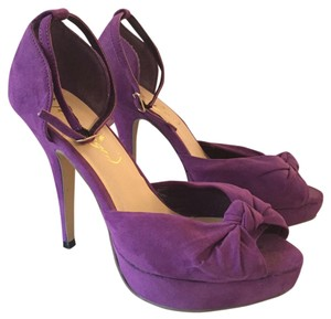 Privledged Purple suede Pumps