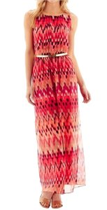 Coral, Multi print Maxi Dress by Studio One #maxi