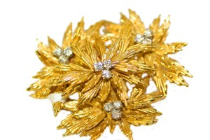 Classic Diamond Brooch