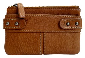 Fossil Brown leather multifunction wallet