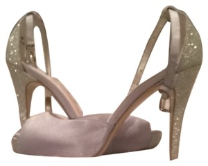 Crown Vintage Silver Pumps