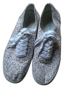 Mossimo Supply Co. Plimsolls Vans Floral Pastel Multicolored Flats