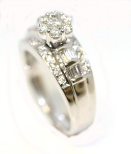 Claster Engagement Ring