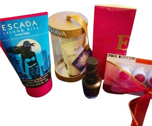 Escada & Ahava & OPI & Urban Outfitters Designer 5 Product Beauty Bundle ! All brand New Factory !