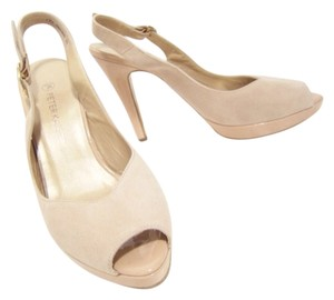 Peter Kaiser GOLD/BEIGE Platforms