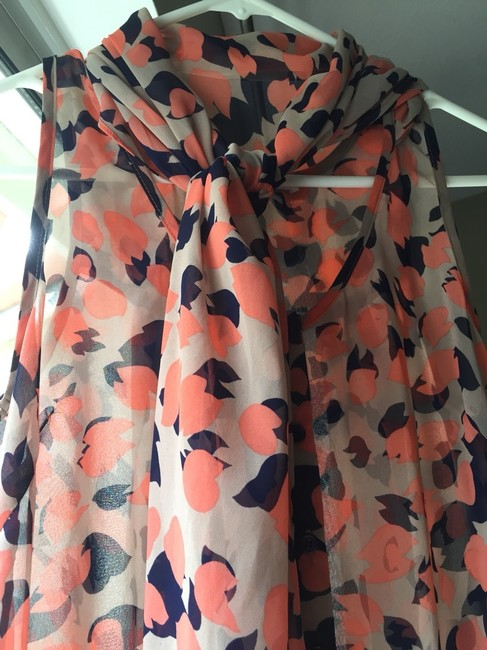 Collective Concepts Top Multi, Orange, Peach, Nude, Blue, Navy