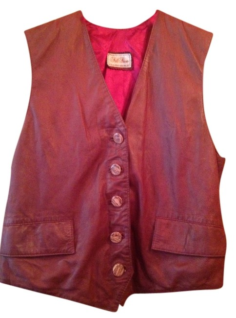 European Leather Vest