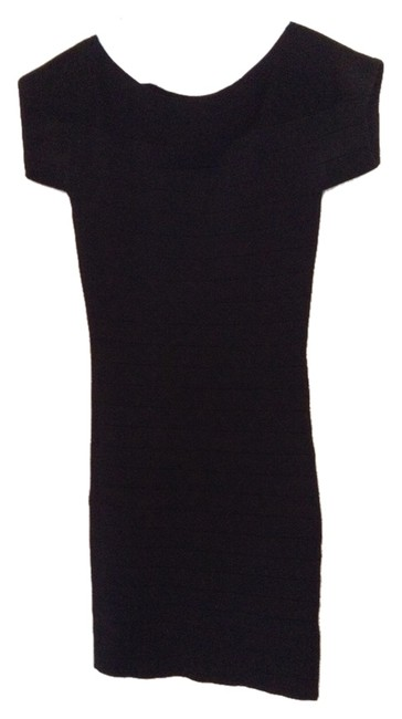 Preload https://item5.tradesy.com/images/french-connection-black-bandage-above-knee-cocktail-dress-size-0-xs-4408204-0-0.jpg?width=400&height=650