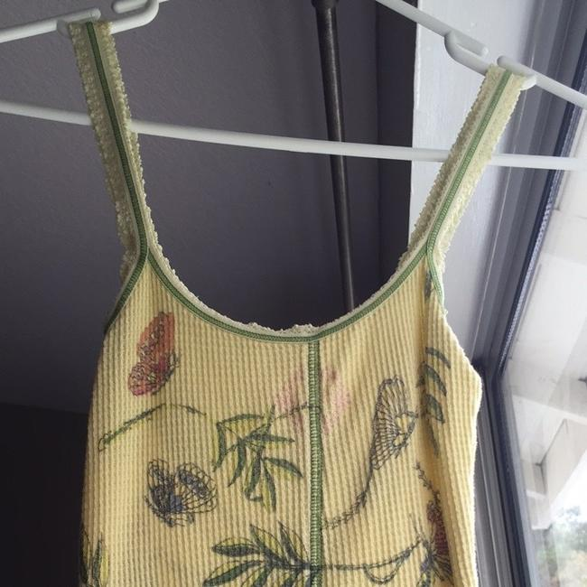 Free People Top Yellow, Multi, Blue, Green, Orange, Purple