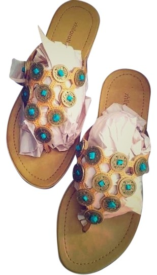 Preload https://item4.tradesy.com/images/mossimo-supply-co-target-tanturqouise-sandals-4408438-0-0.jpg?width=440&height=440
