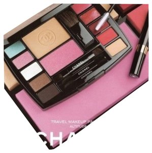 Chanel CHANEL NEW AUTHENTIC makeup brushes bag mascara cosmetic travel palette kit