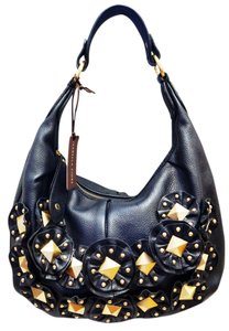 Isabella Fiore Star Studded Morgan Hobo Bag