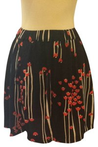 Skirt Navy with Red And White