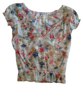 Abercrombie & Fitch Top Floral