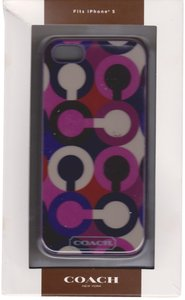 Coach Coach OP Scarf Print Case Cover iPhone 5/5S