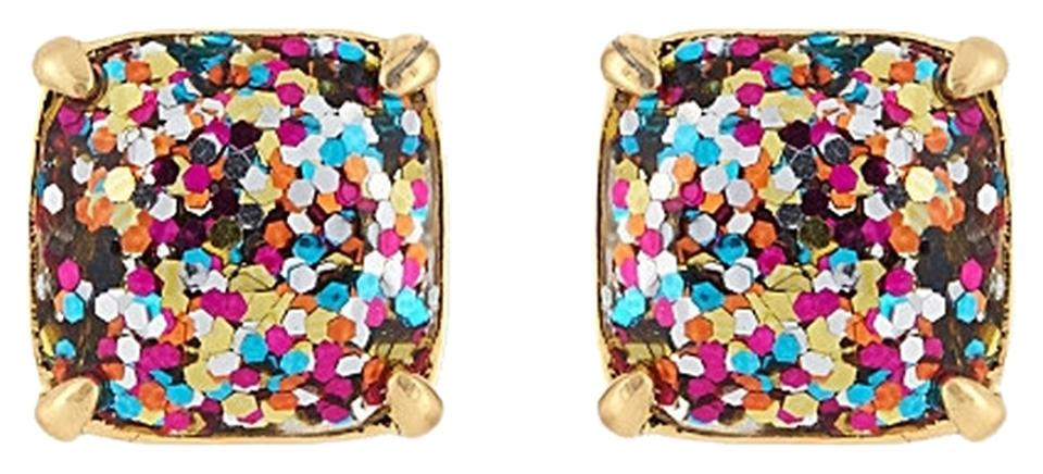 Kate Spade Multi Glitter Earrings Kate Spade Jewelry
