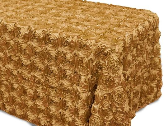Preload https://item1.tradesy.com/images/gold-two-90x132-rectangle-grandiose-rosette-tablecloth-4409935-0-0.jpg?width=440&height=440