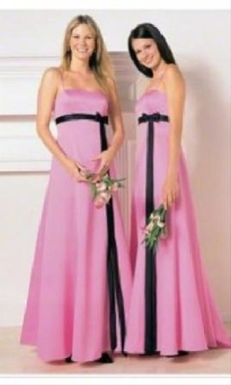 Alfred Angelo Pink/Black Style 6133 Dress