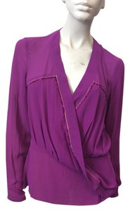 Marchesa Voyage Top Purple