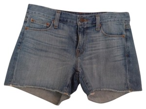 J.Crew Cut Off Shorts Indigo Denim