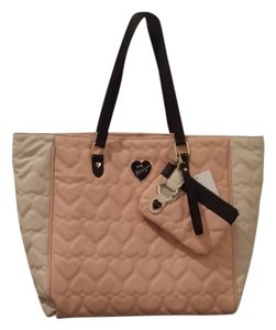 Betsey Johnson Tote in Blush